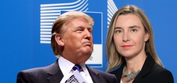 Șefa Afacerilor Străine a Uniunii Europene l-a criticat pe Donald Trump