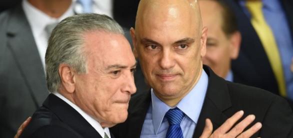 Temer deve indicar Alexandre de Moraes para vaga no STF