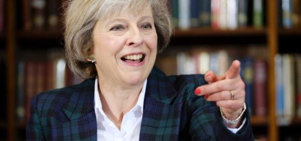 Theresa May é a segunda primeira ministra britânica depois da icônica conservadora Margaret Thatcher.