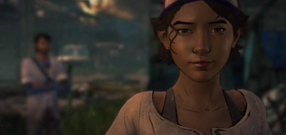 Clementine é uma criança em meio ao apocalipse zumbi, mas possui grandes habilidades de sobrevivência