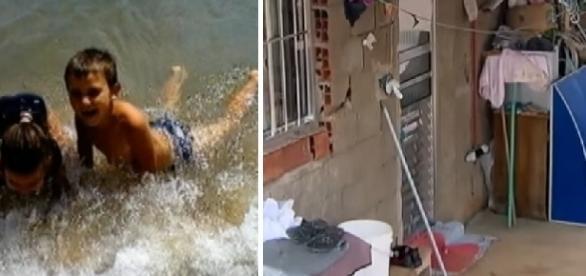 Criança morre ao cair em armadilha feita para ladrão na casa do vizinho.