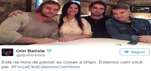 Filho de Eike Batista lança campanha de apoio ao pai e vira motivo de piada.