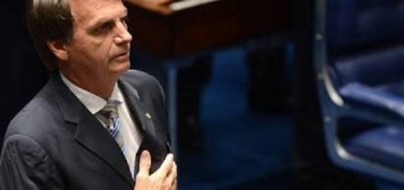 Jair Bolsonaro, atual deputado federal, futuro candidato a presidência