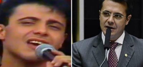 Ele chegou a gravar musica composta por Zezé De Camargo.