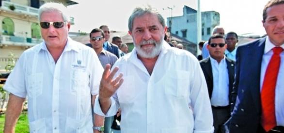 Ex-presidente do Panamá e Lula