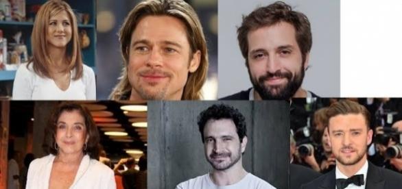 Famosos como Jennifer Aniston, Caco Ciocler e Brad Pitt assumiram usar maconha