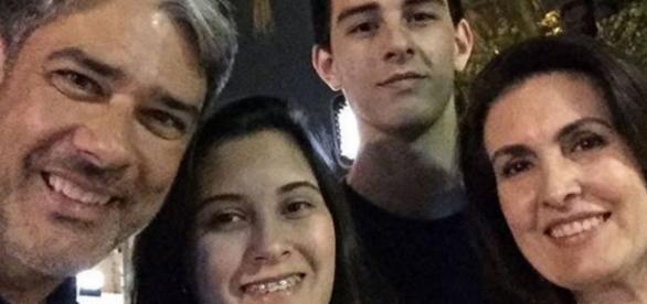Fátima Bernardes, Vinícius e Bonner - Google