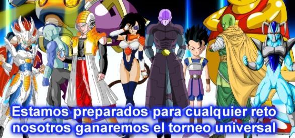 Los guerreros del universo 6 aparecen