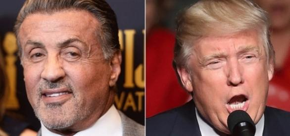 Sylvester Stallone 'flattered' by Donald Trump job link ... - stereotag.com
