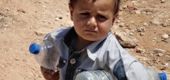 Syrien: Wassermangel bedroht Kinderleben   SOS-Kinderdörfer - sos-kinderdoerfer.de