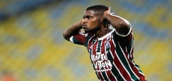 Com dois gols, Patrick assegurou estreia vitoriosa do Flu na Copa São Paulo de Futebol Junior em 2017 (Foto: O DIa)