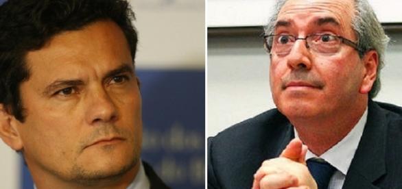 Cunha elogia o juiz Sérgio Moro