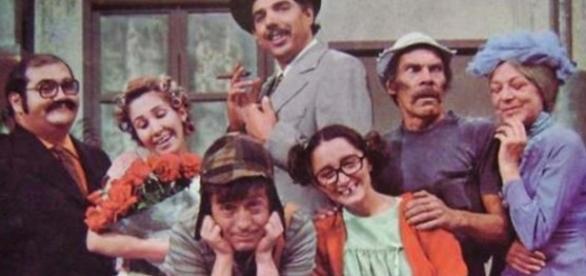 """Elenco do seriado mexicano """"Chaves"""""""