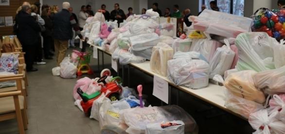 En estas navidades se han recogido 4.500 regalos de Reyes para los niños