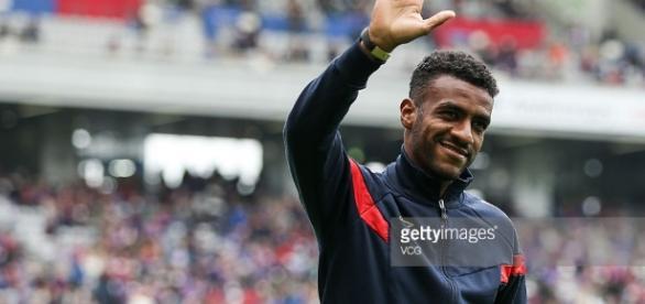 Muriqui, no FC Tokyo, quando assinou com o clube