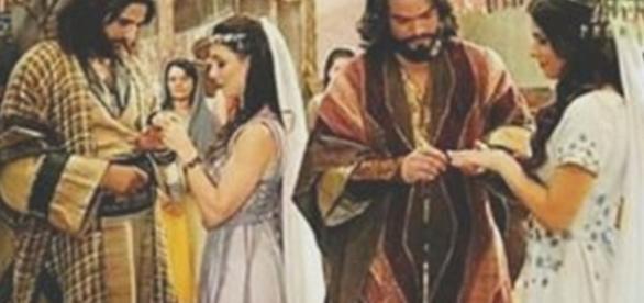 Raabe e Salmon e Aruna e Josué se unem em um casamento duplo