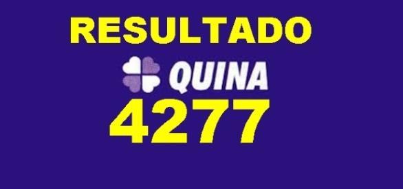 Resultado do jogo da Quina 4277