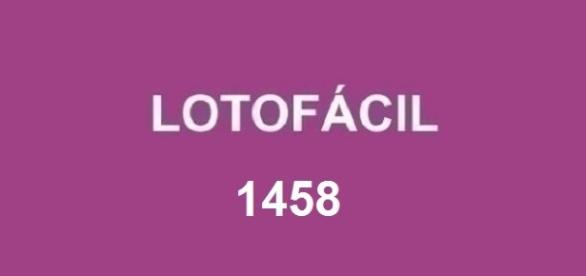 Resultado do sorteio 1458 da Lotofácil