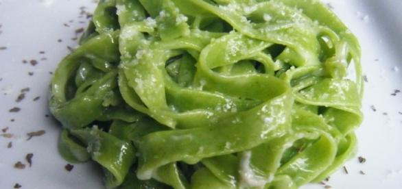Tagliatelle ai fagiolini- un piatto delicato e dal sapore unico