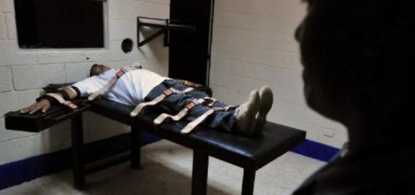 Un delincuente a quien se le aplicó la pena de muerte