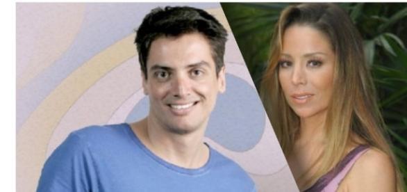 Briga entre Leo Dias e Danielle Winits agita as redes sociais