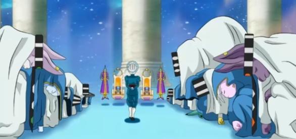 Fan art de Dicasty sobre los 12 Dioses destructores con los 12 Kaio Shins