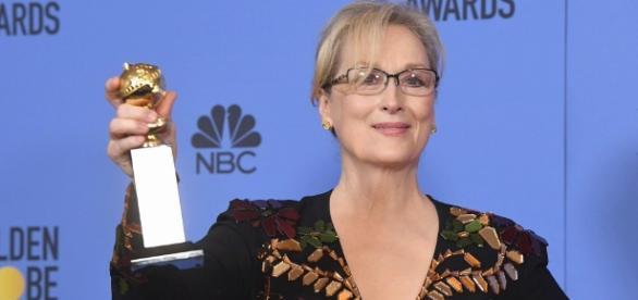 Meryl Streep tears into Trump in Golden Globes speech - brecorder.com