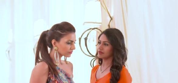 Tia and Anika in Ishbaaz (Youtube screen grab)