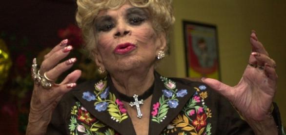 Dercy Gonçaves: ela sabia como tratar bem um palavrão