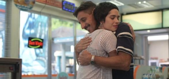 Flávia e Misael em 'A lei do Amor' (Divulgação/Globo)