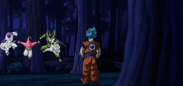Goku vs los enemigos del pasado
