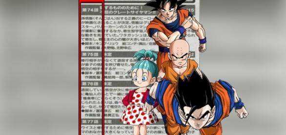 Imagen con los resúmenes de los próximos episodios.