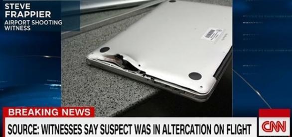 Macbook Pro serviu de escudo contra projétil do atirador da Flórida