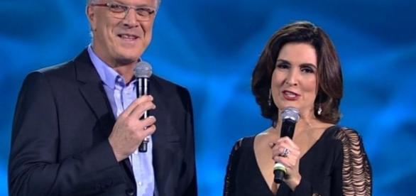 Pedro Bial e Fátima Bernardes - Google