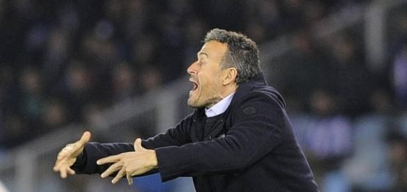 Luis Enrique, técnico do Barcelona