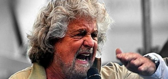 Beppe Grillo, leader del Movimento 5 stelle
