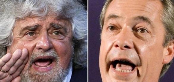Beppe Grillo molla Farage per un matrimonio di convenienza con Verhofstadt
