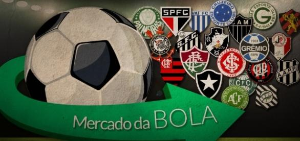 Confira as principais negociações do futebol brasileiro.