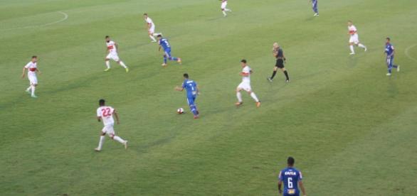 Cruzeiro sofre, mas vence o União Mogi e segue na Copinha (Foto: Guilherme Borges)