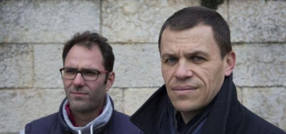 François Devaux (à g), Bertrand Virieux: victimes du père Preynat ... - leparisien.fr