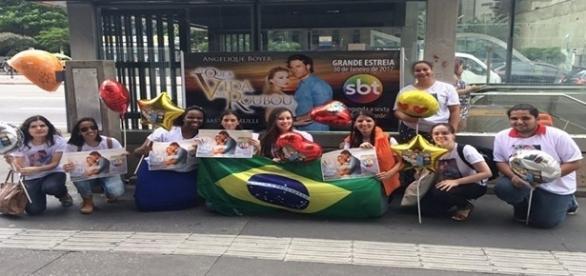 Grupo de amigos fãs de novelas mexicanas promove divulgação em São Paulo