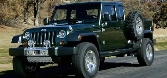 Jeep Gladiator ganhou um novo protótipo em 2015