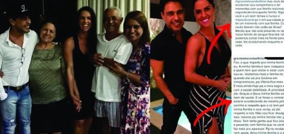Juntos oficialmente desde 2014, Zezé Di Camargo e Graciele Lacerda pouco são vistos na terra da capixaba ou com os familiares dela