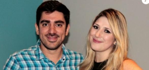 Marcelo Adnet e a esposa, Dani Calabresa - Reprodução/Internet
