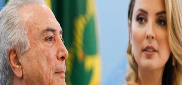 Temer proíbe primeira-dama de dar entrevistas
