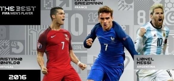 The Best, premiação da FIFA para o melhor jogador do ano