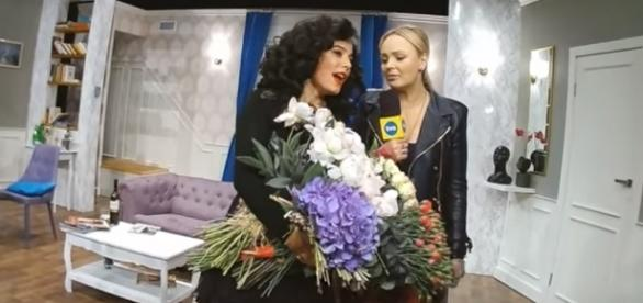 Anna Mucha udziela wywiadu dla TVN (fot. YouTube.pl)