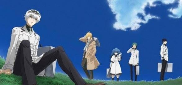 Imagen promocional para el nuevo anime de 'Tokyo Ghoul :re'