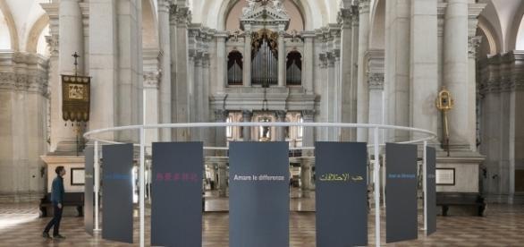 Michelangelo Pistoletto- Suspended Perimeter alla Basilica di San Giorgio Maggiore