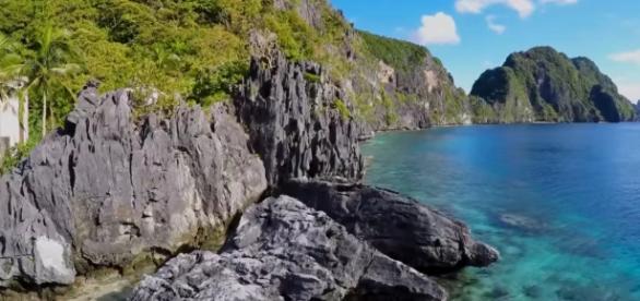 Unspoiled paradise of El Nido, Palawan, Image Credits: Christian Del Rosario/ YouTube screencap
